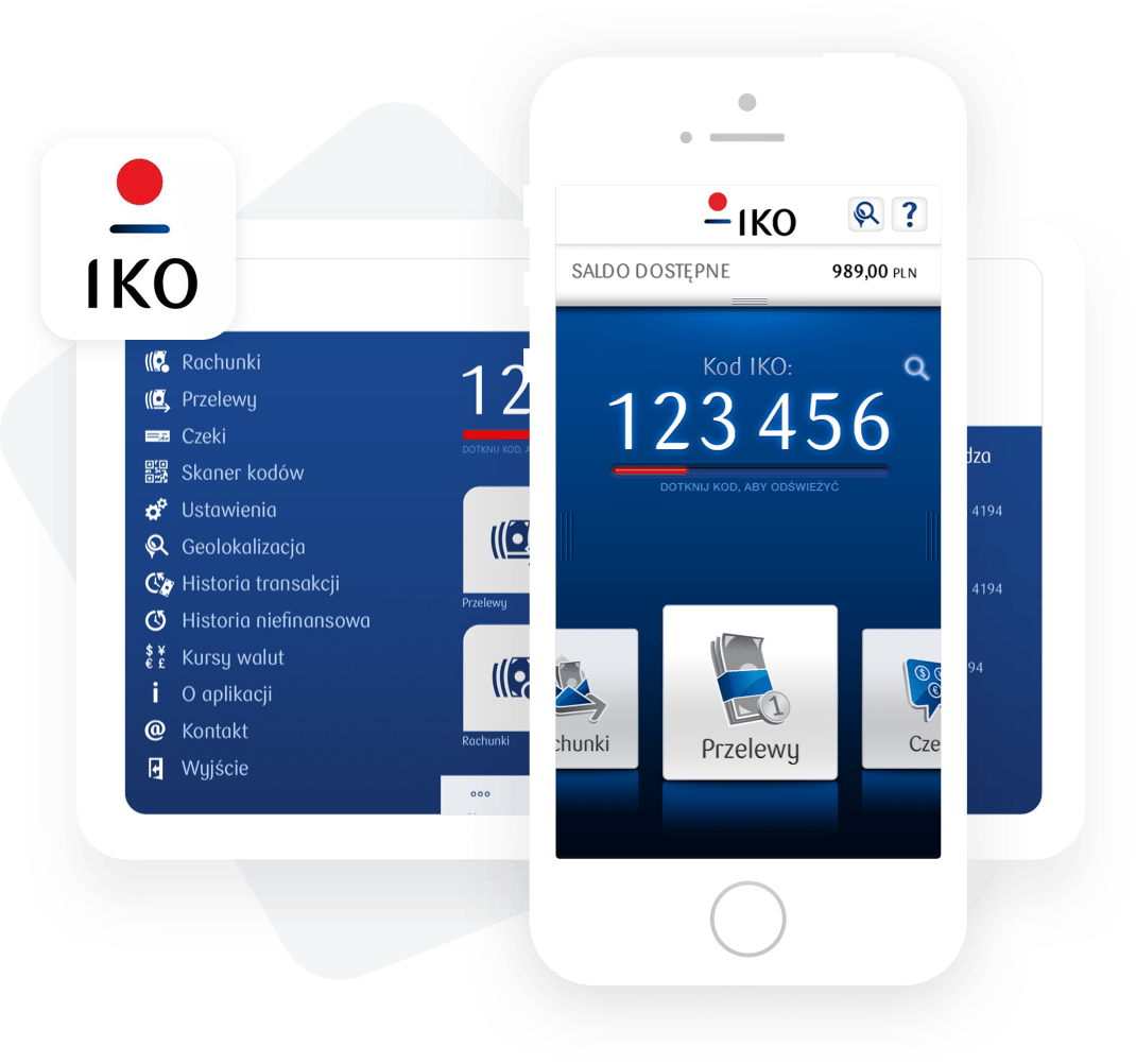 IKO – mobile payment and banking app